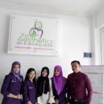 Bersama Klien di  The Aesthetics Skin & Slimming Center